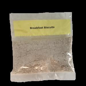 Breakfast biscuit baking kit