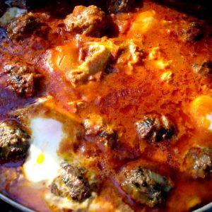 meat ball tagine