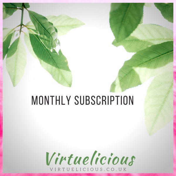 Recipe box subscription