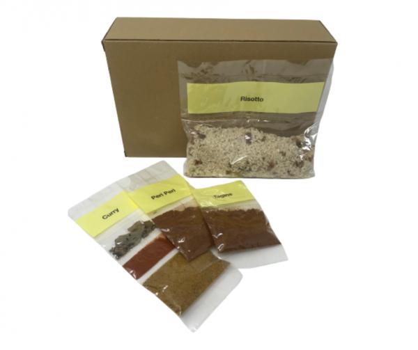 Fakeaway recipe kits