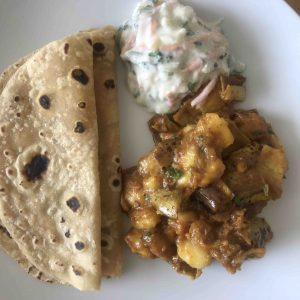 Banana curry